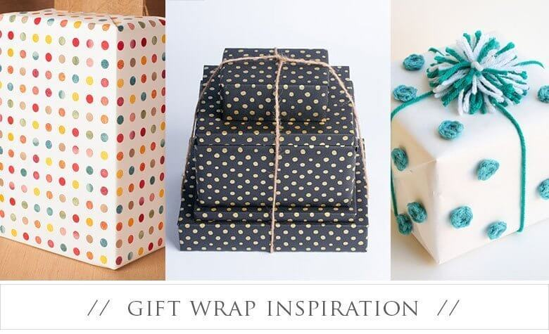 Delirious For Dots – Gift Wrap Inspiration