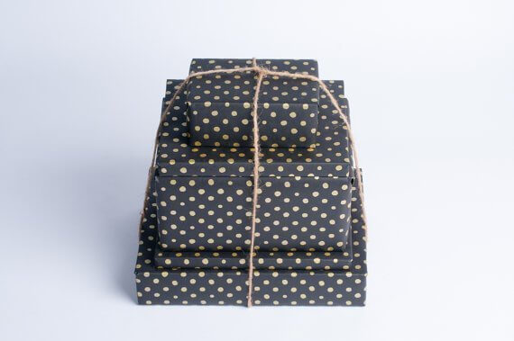 gold-dots-on-black-paper-gift-wrap