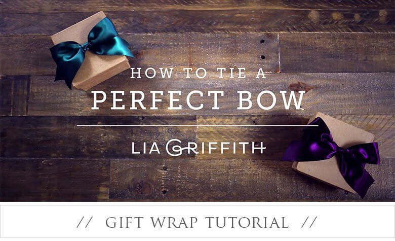 Wednesday Wrap – How To Tie The Perfect Bow