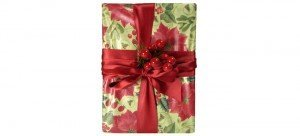 Christmas gift wrap service by Pretty Present