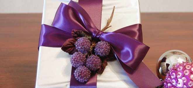 Purple & Silver Elegance