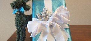 custom holiday gift wrap service by Pretty Present, Sacramento