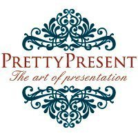 Pretty Present Logo Design. All Rights Reserved