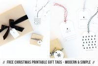 Free Printable Christmas Gift Tag Set Download via Pretty Present Blog